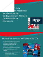 2010 American Heart Association Guias Para RCP c Graficos