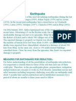 Earthquake-Risk Reduction Measures.