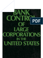 Kotz - Bank Control of Large Corporations in the United States (1978)