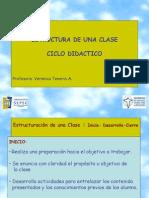 Presentacion Estructura de Una Clase