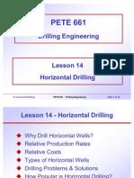 14. Horizontal Drilling