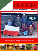 Operuje w Peru - Lipiec 2011