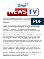 GMA News TV International is Here!