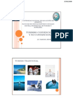 1.2 Turismo Convencional y No Convencional