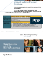 New Ccna Overview 0907