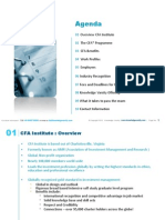 Chartered Financial Analyst (CFA) Course Overview From Knowledge Varsity For Dec 2011