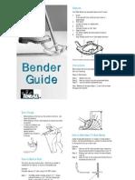 Conduit Bender Guide