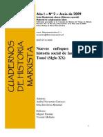 Libro Nuevos enfoques para una historia social de las textiles de Tomé (Siglo XX)