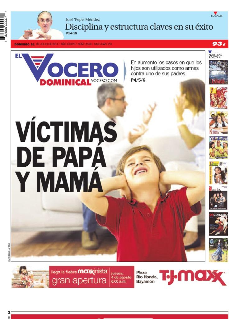 Domingo 31 de Julio del 2011 | Puerto Rico | Abuso infantil