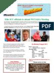 Warwickshire Cricket Umpires & Scorer's Assocoation Newsletter Summer 2011