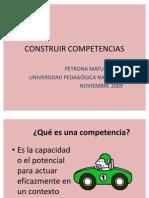 CONSTRUIR COMPETENCIAS