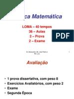 Lógica Matemática 2011