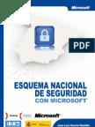 Esquema nacional seguridad por Microsoft España e Inteco