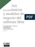Aspectos economicos y modelos de negocio del software libre (UOC)