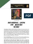 Roaring Lion - Preparations for War!