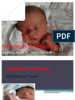 4.Newborn Screening