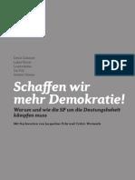 Tessiner Papier - Schaffen Wir Mehr Demokratie