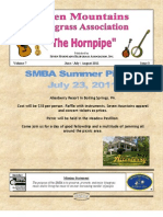 Seven Mountains Bluegrass Newsletter June, July, August 2011