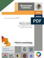 Guía de Atención Integral de Preeclampsia en 2o y 3er Nivel ER