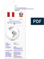 Perú - sierra