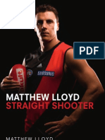 Straight Shooter by Matthew Lloyd Sample Chapter