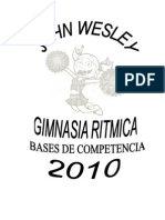 Bases de Gimnasia Ritmica 2010