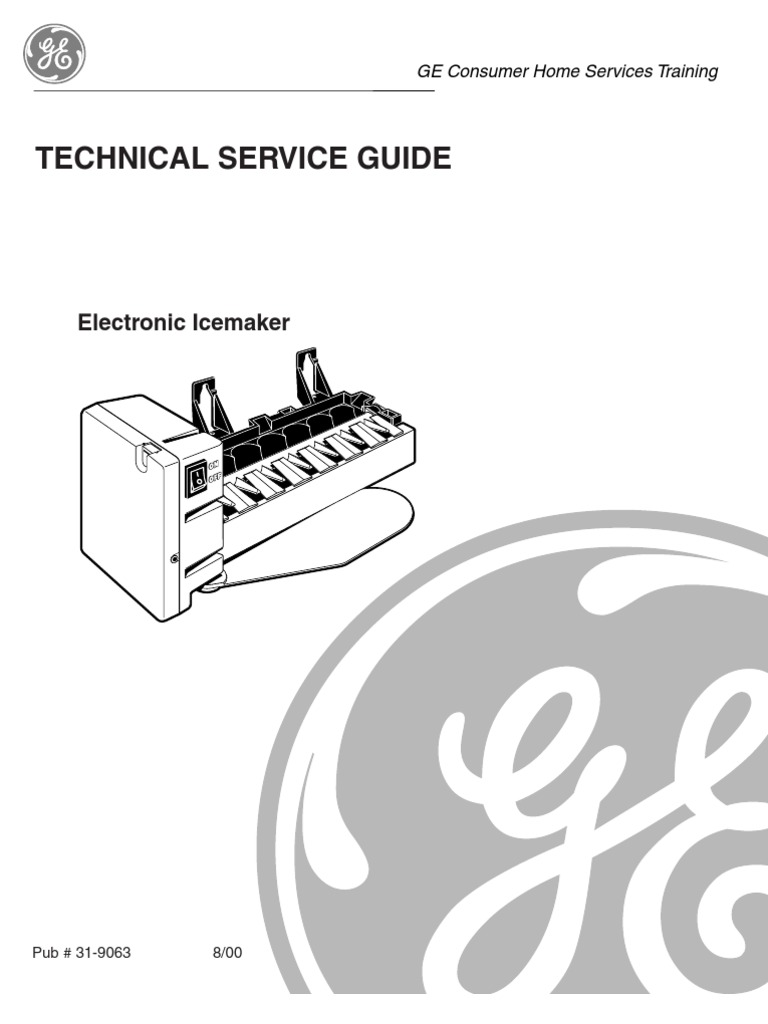 Electronic Ice Maker | Ice | Switch