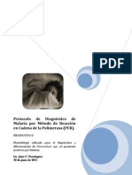 Protocolo de PCR para Malaria