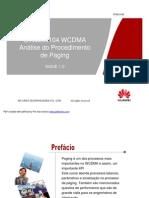 13_WCDMA Análise do Procedimento de Paging