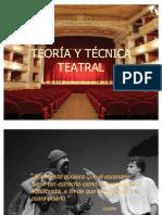 TEORÍA Y TÉCNICA TEATRAL 2