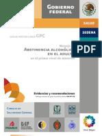 cia Alcoholic A en El Adulto. GR
