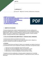 Decreto 69286 Licencias Art 6o
