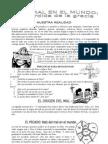 5.- El Mal en El Mundo y Perdida de La Gracia.
