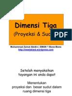 Presentasi Matematika Kelas x Dimensi Tiga