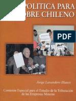 Una Política para el Cobre Chileno / Jorge Lavandero (2004)