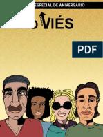 capa da primeira edição impressa da revista o Viés