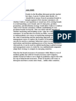 Brazil Unilever Case Study