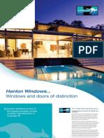 Hanlon Windows Brochure