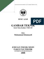 Bahan AJar-TMD105 Gambar Teknik