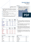Derivatives Report 1st August 2011