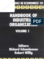 Handbook- Handbook of Industrial Organization VOL I