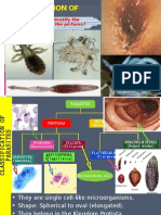 Lecture6; Intro, Classification of Parasites