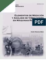 Elementos de Medicion y Analisis de Vibraciones Mecanica en Maquinas Rotatorias