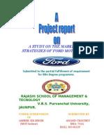 Marketing Strategies of Ford Motor India (2)