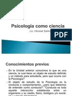 1.2 Psicologia Como Ciencia