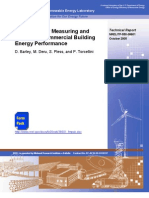 Procedure for Measuring and Reporting Building Energy Performance