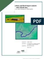 Flood Impact Analysis With LIDAR Data