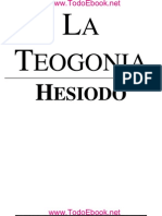Hesiodo - La Teogonia - V1.0