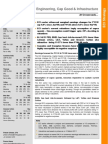 Engineering, Capital Goods and Infrastructure ECI Strategy_220311