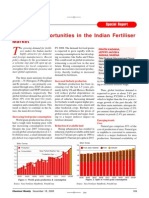 Emerging Opportunities in Fertilizer Market Published in Chemical Weekly